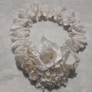 Other - Girls white headband